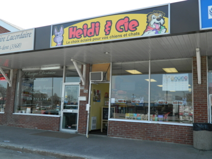 Centre Canin Heidi Et Cie - Pet Food & Supply Stores - 514-325-6565