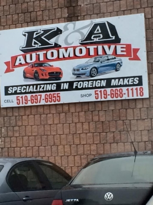 K And A Automotive - Oil Changes & Lubrication Service