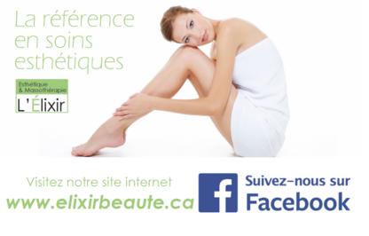 Esthétique Massothérapie L'Élixir - Waxing - 514-995-3153