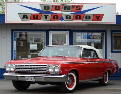 Don's Auto Body & Paint Shop Ltd - Automobiles de collection et voitures anciennes
