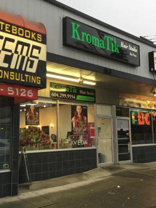 Kromatik Hair Studios - Salons de coiffure et de beauté - 604-299-9554