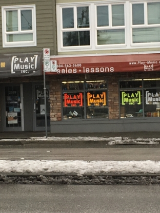 Play Music Inc - Musical Instrument Stores - 604-563-5600