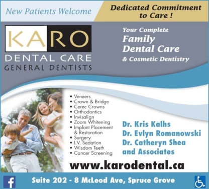 Karo Dental - Teeth Whitening Services - 780-962-6670