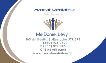 Voir le profil de Daniel Lévy Avocat et médiateur civil - Fabreville