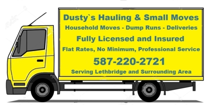 Dusty's Hauling and Small Moves - Moving Services & Storage Facilities - 587-220-2721