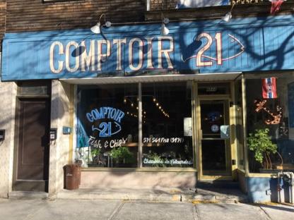 Comptoir 21 Fish & Chips - Restaurants