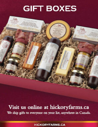 Hickory Farms - Gift Baskets - 905-669-5929