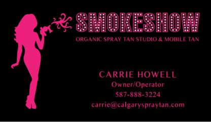 Smokeshow Organic Spray Tan Studio & Mobile Tan - Tanning Salons