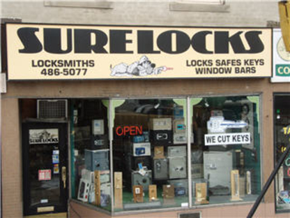Sure Locks - Safes & Vaults