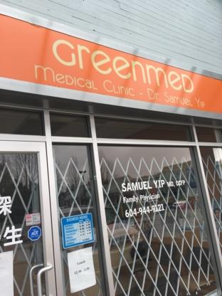 Yip Samuel Dr - Hospitals & Medical Centres - 604-944-9121