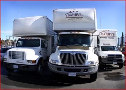 Barry's Moving & Storage Ltd - Déménagement et entreposage - 250-475-0022
