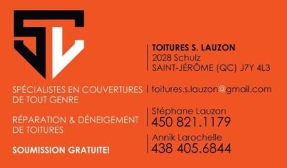 Toitures S. Lauzon - Roofers - 438-405-6844