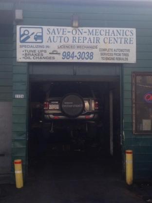 Save On Mechanics Auto Repair Ltd - 604-984-3038