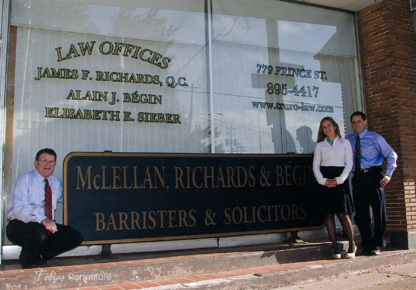 McLellan Richards & Bégin - Lawyers - 902-895-4417