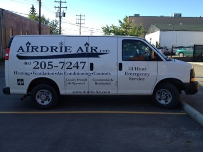 Airdrie Air Ltd - Heating Contractors - 403-205-7247