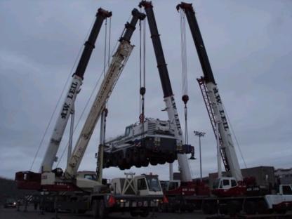 A W Leil Cranes & Equipment Ltd - Crane Rental & Service