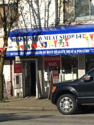 Fraserview Meat Shop - Boucheries - 604-327-1724