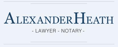 Alexander Heath - Lawyer - Lawyers - 613-246-4637