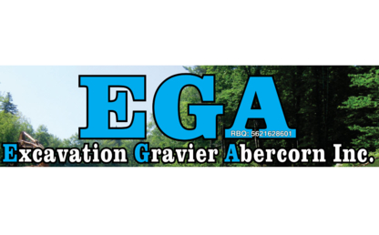 Excavation et Gravier Abercorn Inc - Sable et gravier - 450-538-2425