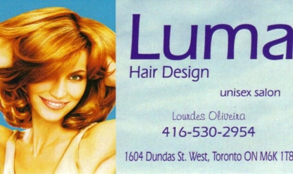 Luma Hair Design - Hairdressers & Beauty Salons - 416-530-2954