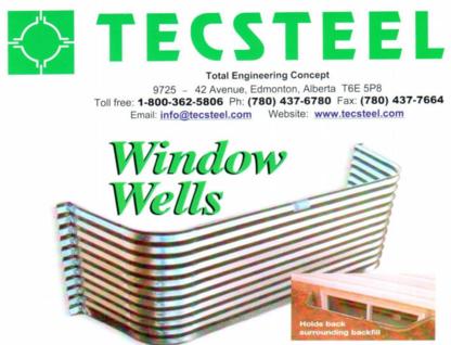 Tecsteel Inc - Steel Fabricators - 780-437-6780
