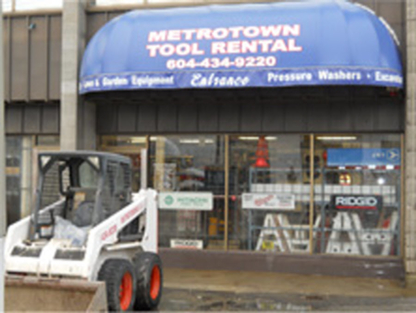 Metrotown Tool Rental - Landscaping Equipment & Supplies - 604-434-9220
