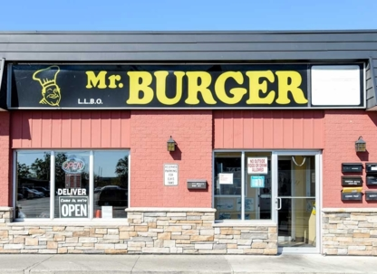Mr Burger - Burger Restaurants - 647-490-2335
