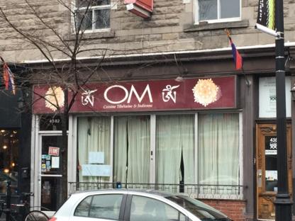 Restaurant Tibetan Om - Restaurants asiatiques - 514-287-3553