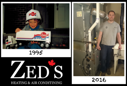 Zed's Heating & Air Conditioning - Furnace Repair, Cleaning & Maintenance