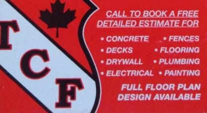 TCF Contracting - General Contractors - 778-881-6111