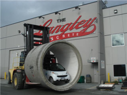 Langley Concrete Group - Pipes - 604-533-1656