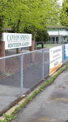 Canyon Springs Academy Inc - Special Purpose Academic Schools - 604-465-0597