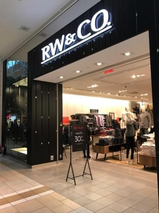 RW & CO. - Magasins de vêtements - 514-694-5888