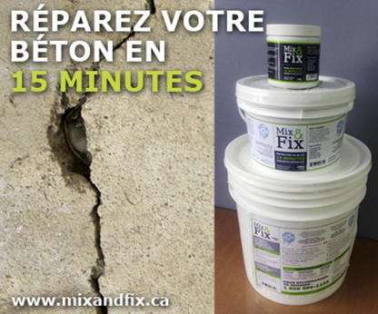 Solutions Fixall Inc - Concrete Products - 514-926-3853