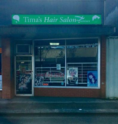 Tima's Hair Salon - Hairdressers & Beauty Salons - 604-942-2961