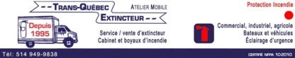 Trans-Québec Extincteur - Fire Extinguishers
