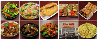 Asia Wok Chinese Food Take-Out - Chinese Food Restaurants - 613-837-2233