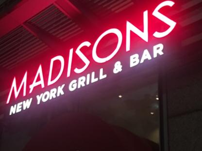Madisons Restaurant & Bar - Restaurants américains - 514-252-1221