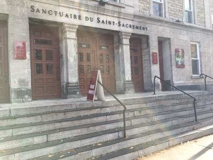 Sanctuaire du Saint-Sacrement - Churches & Other Places of Worship