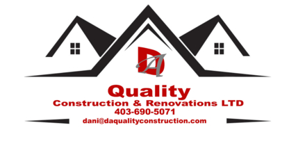 DA Quality Construction & Renovations - Painters - 403-690-5071
