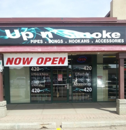 Up N' Smoke - Smoke Shops - 780-732-1190