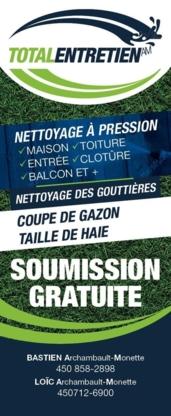 Voir le profil de Total Entretien AM - Ste-Marguerite-du-Lac-Masson