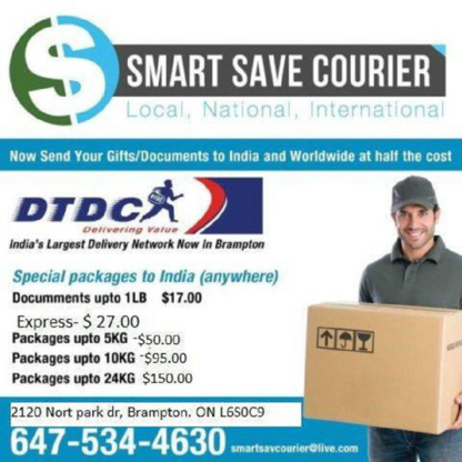 Smart Save Courier - Courier Service - 647-534-4630