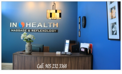 In Health Wellness Centre - Massage Therapists - 905-232-3368