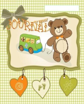 Mini Teddy Journal - Fournitures et mobilier de garderie