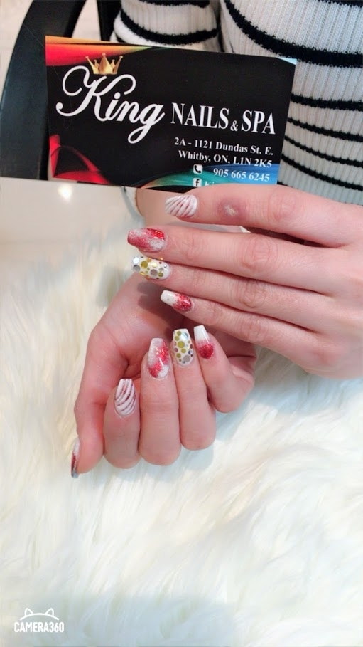 King Nails And Spa - 1121 Dundas St E, Whitby, ON