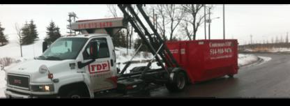 Conteneurs FDP - Bacs et conteneurs de déchets