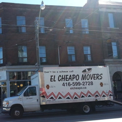 El Cheapo Movers Ltd - Moving Services & Storage Facilities - 416-599-2728