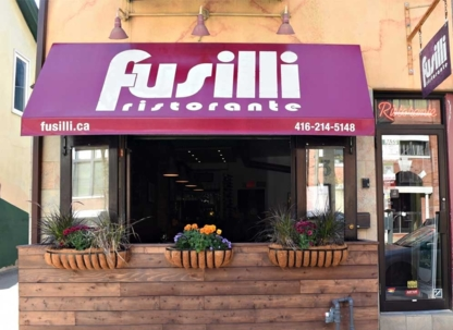 Fusilli Restaurant - Pizza et pizzérias - 647-490-2263