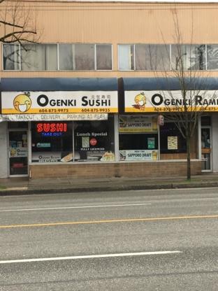 Ogenki Sushi - Sushi & Japanese Restaurants - 604-875-9975